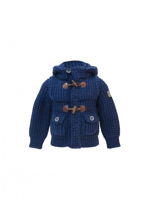 Short Parka Junior - Denim