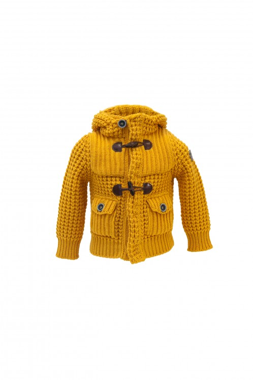 Short Parka Junior - Ocra