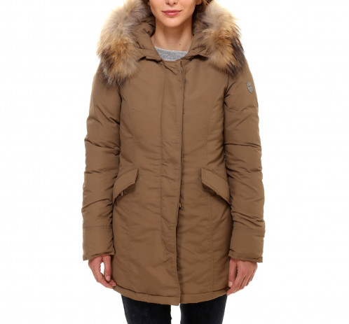 LONG ARTIC PARKA BEIGE