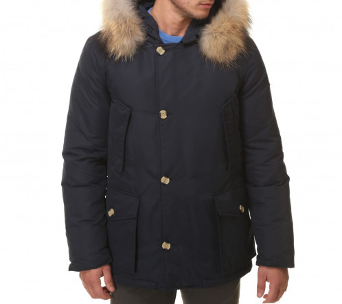LONG ARTIC PARKA NAVY