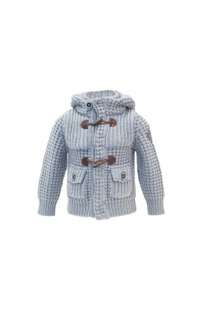 Short Parka Junior - Cenere