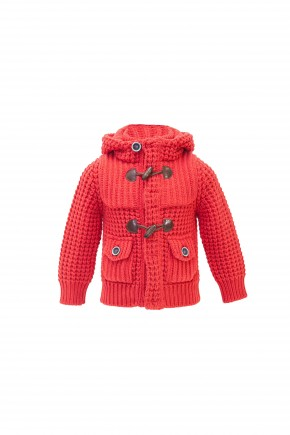 Short Parka Junior - Corallo