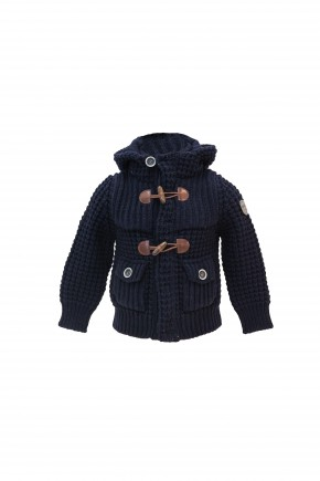 Short Parka Junior - Navy