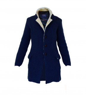 Cappotto in lana - Denim